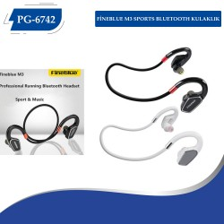 PG-6742 FİNEBLUE M3 SPORTS BLUETOOTH KULAKLIK