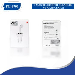 PG-6791  İ MAX BLUETOOTH  KULAKLIK VE ARABA ŞARZI