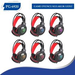 PG-6920 GAME OYUNCU  KULAKLIK  LEDLİ