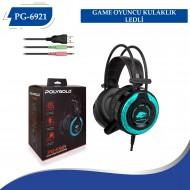 PG-6921 GAME OYUNCU  KULAKLIK  LEDLİ