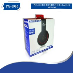 PG-6980 POLYGOLD BLUETOOTH KULAKLIK MP3-FM
