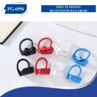 PG-6996 FREE X5 MODEL BLUETOOTH KULAKLIK