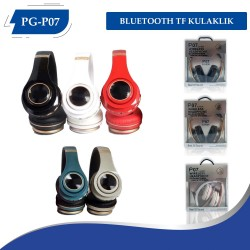 PG-(P07)  BLUETOOTH TF KULAKLIK