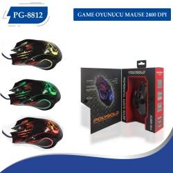 PG-8812 GAME OYUNUCU MAUSE 2400 DPI