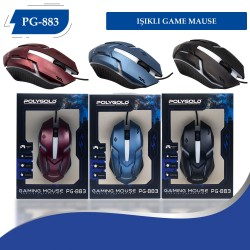 PG-883 Usb Isıklı Game Mouse