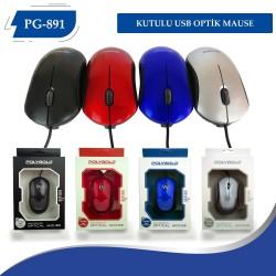 PG-891 KUTULU USB OPTİK MAUSE