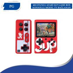 400 OYUNLU ATARİ SUP GAME BOX KONSOLLU MODEL TV BAĞLANAN