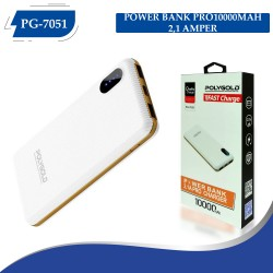 PG-7051 POLYGOLD POWER BANK PRO10000MAH 2,1 AMPER