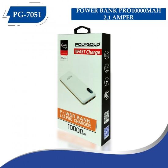PG-7051 PRO POWER BANK 10000MAH (2,1 QUALTY ŞARZ)