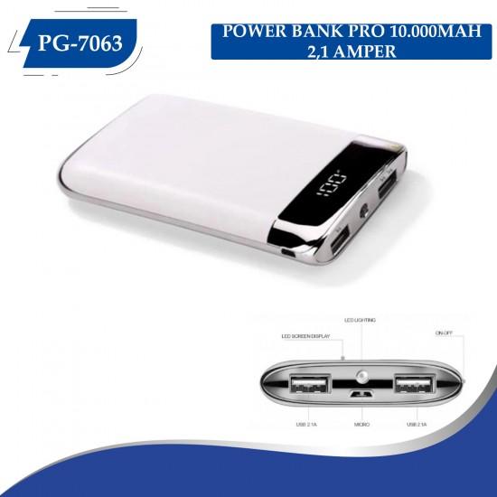 PG-7063 PRO POWER BANK 10000MAH (2,1 QUALTY ŞARZ)