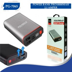 PG-7065 POLYGOLD POWER BANK PRO 10000MAH 2,1 AMPER