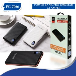 PG-7066 POLYGOLD POWER BANK PRO 10000MAH 2,1 AMPER