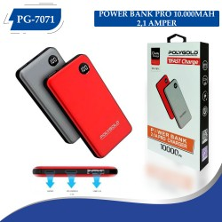 PG-7071 POLYGOLD POWER BANK PRO 10000MAH 2,1 AMPER
