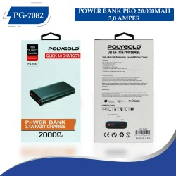 PG-7082 POLYGOLD POWER BANK PRO 20000MAH 3.0 QUİCLK ŞARZ