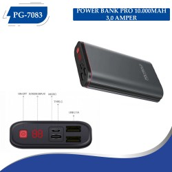 PG-7083 POLYGOLD POWER BANK PRO 10000MAH 3.0 QUİCLK ŞARZ