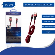 PG-271 IPHONE 3.1AMPER  USB USB DATA KABLO