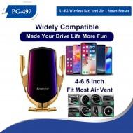 PG-497 R1-R2  Wireless Şarj Yeni  2in 1 Smart Sensör