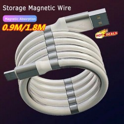 TYPE-C  MAGNETİC USB DATA ŞARZ KABLOSU PG-4273