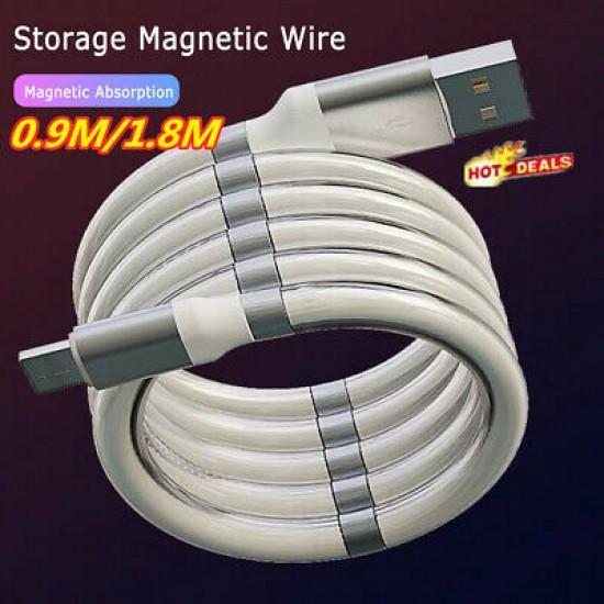 İPHONE MAGNETİC USB DATA ŞARZ KABLOSU PG-4272