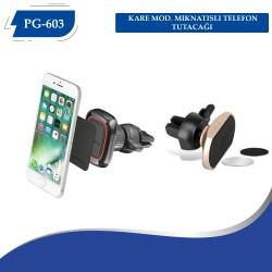 PG-603 KARE MOD.MIKNATISLI TELEFON TUTACAĞI