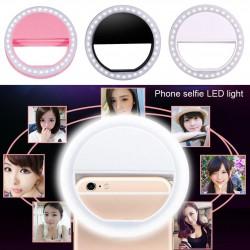 Selfie Işığı Ring Light Led Flash Beauty Light Taşınabilir Ledli